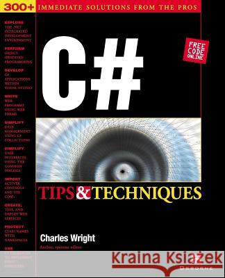 C# Tips & Techniques Charles Wright Kris Jamsa 9780072193794
