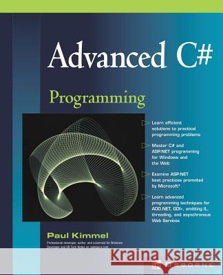 Advanced C# Programming Paul Kimmel Michael Mueller Lyssa Wald 9780072224177