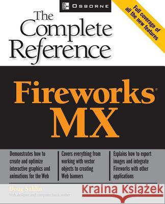 Fireworks MX : The Complete Reference Doug Sahlin 9780072224566