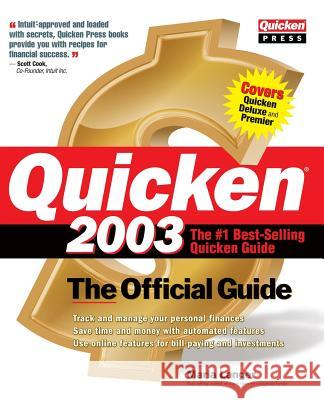 Quicken (R) 2003: The Official Guide (2003) (2003) Maria Langer 9780072226188