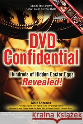 DVD Confidential: Hundreds of Hidden Easter Eggs Revealed Marc A. Saltzman 9780072226638