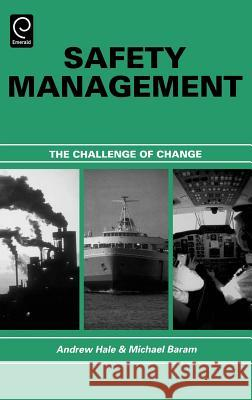 Safety Management : The Challenge of Change Michael S. Baram A. Hale M. Baram 9780080430751