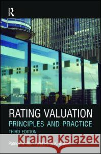 Rating Valuation: Principles and Practice Brown, Peter, Bond, Patrick 9780080966885