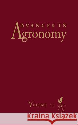 Advances in Agronomy Donald L. Sparks 9780120007523