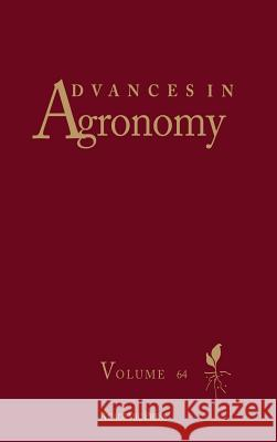 Advances in Agronomy Donald L. Sparks 9780120007646