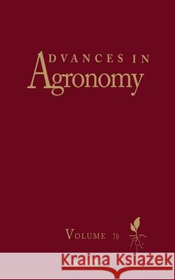 Advances in Agronomy Donald L. Sparks 9780120007707