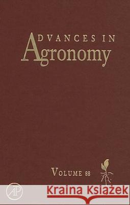 Advances in Agronomy Donald L. Sparks 9780120007868