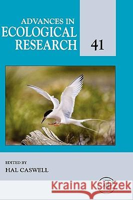 Advances in Ecological Research Hal Caswell 9780120139323