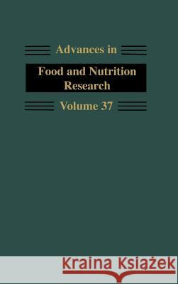 Advances in Food and Nutrition Research John E. Kinsella 9780120164370