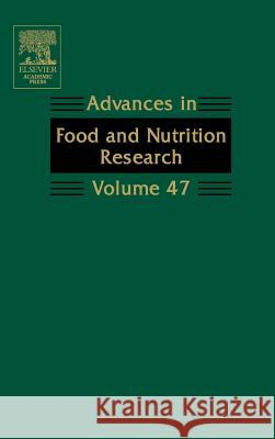 Advances in Food and Nutrition Research Steve Taylor 9780120164479