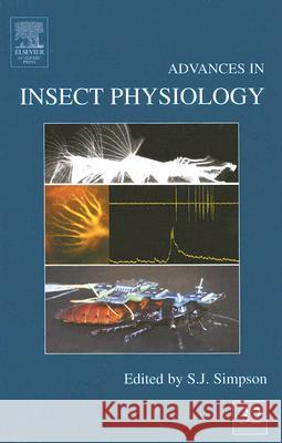 Advances in Insect Physiology S. J. Simpson 9780120242320