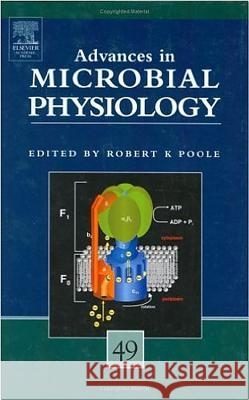 Advances in Microbial Physiology Robert Poole Robert K. Poole 9780120277490