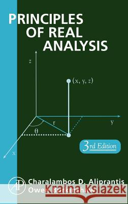 Principles of Real Analysis Charalambos D. Aliprantis Owen Burkinshaw Owen Burkinshaw 9780120502578