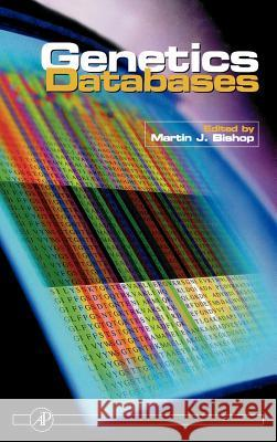 Genetic Databases Martin Bishop 9780121016258