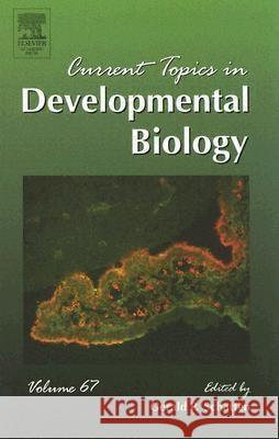 Current Topics in Developmental Biology Gerald Schatten 9780121531676