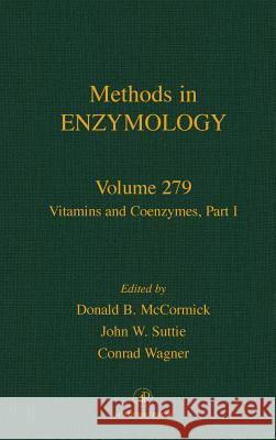 Vitamins and Coenzymes, Part I Donald B. McCormick Melvin I. Simon John N. Abelson 9780121821807 Academic Press