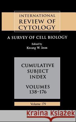 Cumulative Subject Index Kwang W. Jeon 9780123645838