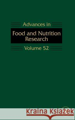 Advances in Food and Nutrition Research Steve Taylor 9780123737113