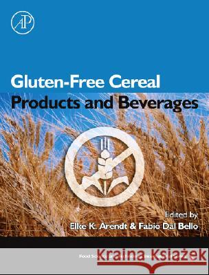 Gluten-Free Cereal Products and Beverages Fabio Da 9780123737397