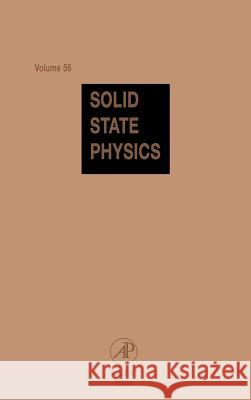 Solid State Physics Henry Ehrenreich Frans Saepen Frans Spaepen 9780126077568