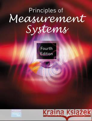 Principles of Measurement Systems John Bentley 9780130430281