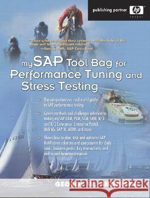 Mysap Tool Bag for Performance Tuning and Stress Testing George W. Anderson 9780131448520