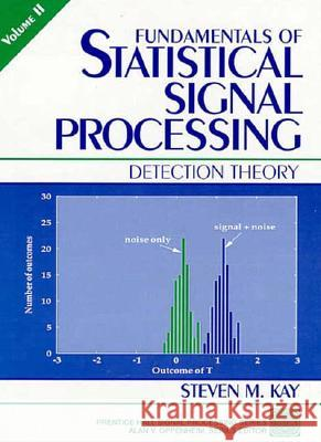 Fundamentals of Statistical Signal Processing, Volume II: Detection Theory Steven M. Kay 9780135041352