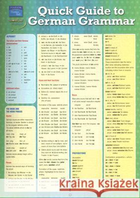 German Grammar (Quickstudy: Academic) [Book] - Pinterest