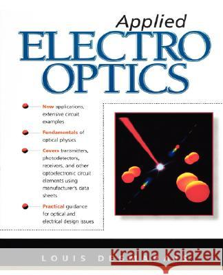 Applied Electro Optics Louis Desmarais 9780138027117