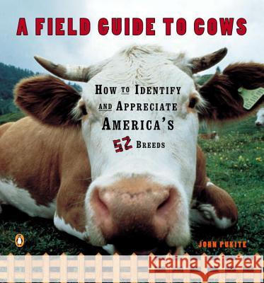 A Field Guide to Cows: How to Identify and Appreciate America's 52 Breeds John Pukite 9780140273885
