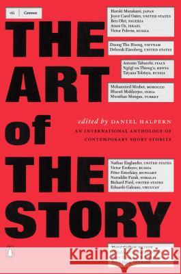 The Art of the Story: An International Anthology of Contemporary Short Stories Various                                  Daniel Halpern 9780140296389 Penguin Books