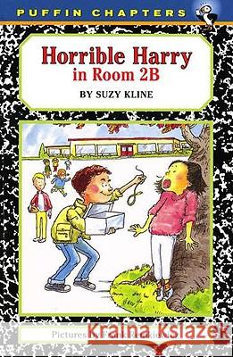 Horrible Harry in Room 2b Suzy Kline Frank Remkiewicz 9780140385526