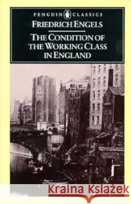 The Condition of the Working Class in England Friedrich Engels V. G. Kiernan 9780140444865