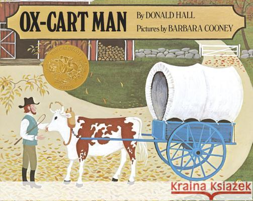 Ox-Cart Man Donald Hall Barbara Cooney 9780140504415 Puffin Books