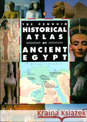 The Penguin Historical Atlas of Ancient Egypt Bill Manley 9780140513318
