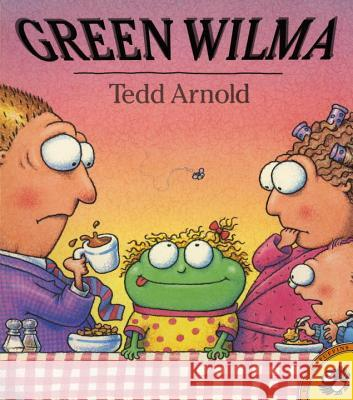 Green Wilma Tedd Arnold Ted Arnold 9780140563627 Puffin Books