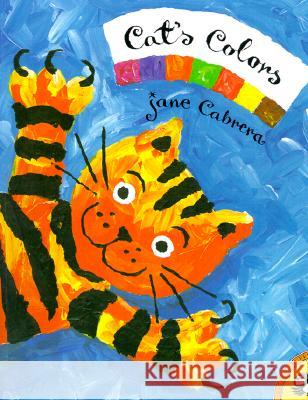 Cat's Colors Jane Cabrera Jane Cabrera 9780140564877