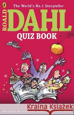 The Roald Dahl Quiz Book Richard Maher 9780141346687