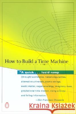 How to Build a Time Machine Paul Davies 9780142001868