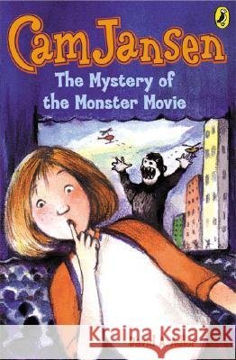CAM Jansen: The Mystery of the Monster Movie #8 David A. Adler 9780142400173