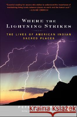 Where the Lightning Strikes: The Lives of American Indian Sacred Places Peter Nabokov 9780143038818