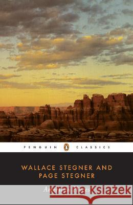 American Places Wallace Earle Stegner Page Stegner 9780143039747