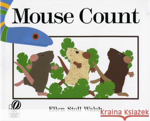 Mouse Count Ellen Stoll Walsh 9780152002237