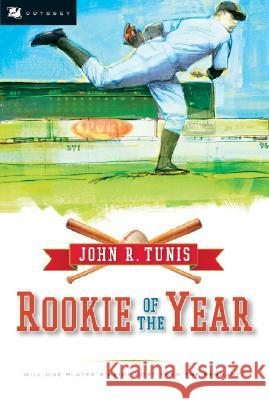 Rookie of the Year John Roberts Tunis Bruce Brooks 9780152056483