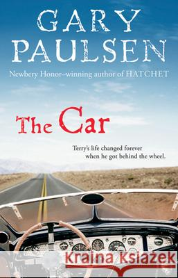 The Car Gary Paulsen 9780152058272 Harcourt Paperbacks