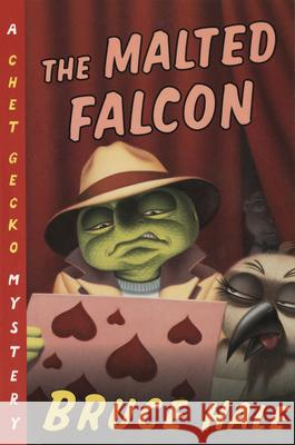 The Malted Falcon Bruce Hale 9780152167127 Harcourt Paperbacks