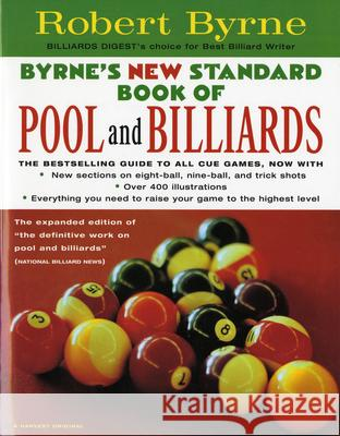 Byrne's New Standard Book of Pool and Billiards Robert Byrne 9780156005548