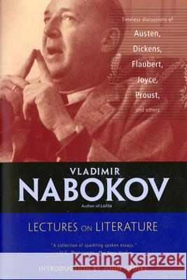 Lectures on Literature Vladimir Nabokov Fredson Bowers John Updike 9780156027755