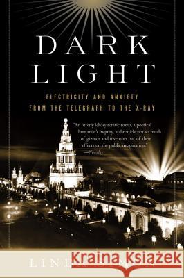 Dark Light: Electricity and Anxiety from the Telegraph to the X-Ray Linda Simon 9780156032445
