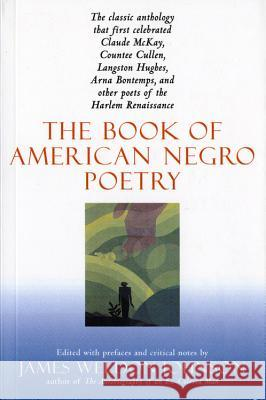 The Book of American Negro Poetry: Revised Edition James Weldon Johnson 9780156135399